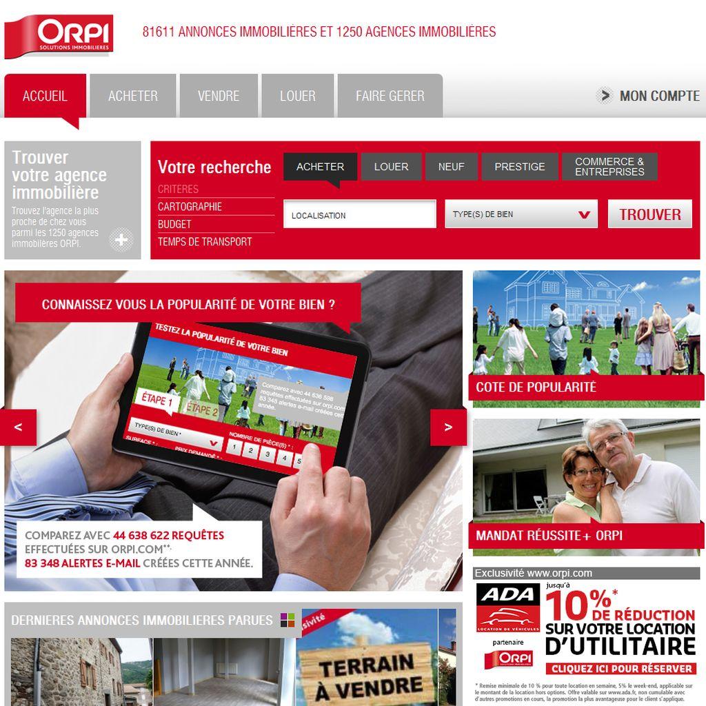 immobilier avec Orpi