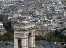 le 8eme arrondissement et l Arc de Triomphe